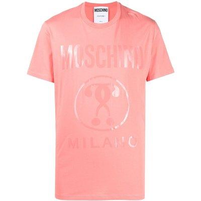 Moschino, T-Shirt Pink, Größe: 56 IT   MOSCHINO SALE