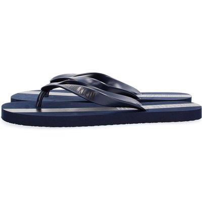 Calvin Klein, Calvin Klein Km0Km00208 FF Sandals Flip-Flops Men blue Blau, Größe: 41/42 | CALVIN KLEIN SALE