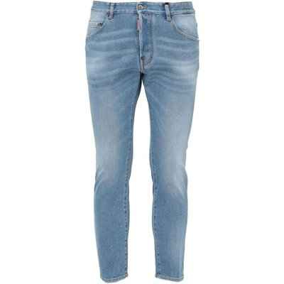 Dsquared2, Jeans With Logo Patch Blau, Größe: 50 IT | DSQUARED2 SALE