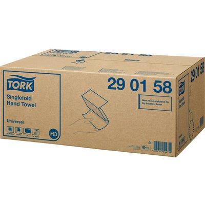 Tork 290158 Singlefold Hand Towel Universal 15 x 300 Sheet Bundles
