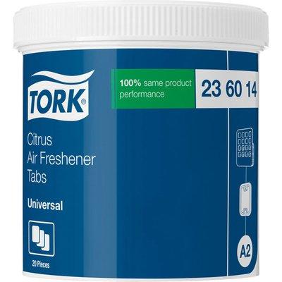 Tork 236014 Citrus Air Freshener Tabs 4 x 20 Tabs