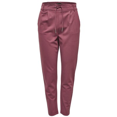 ONLY ONLY Einfarbige Hose Damen Rot