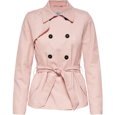 ONLY ONLY Kurzer Trenchcoat Damen Pink