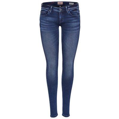 ONLY Onlcoral Superlow Skinny Fit Jeans Blau