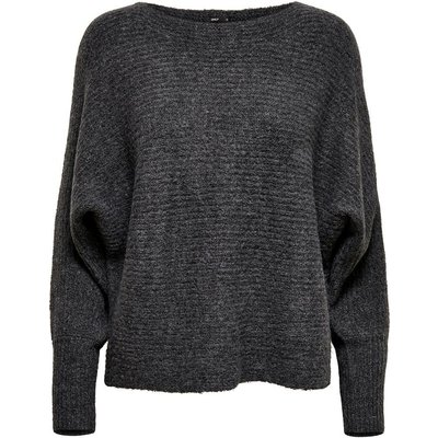 ONLY Batwing Strickpullover Grau | ONLY SALE