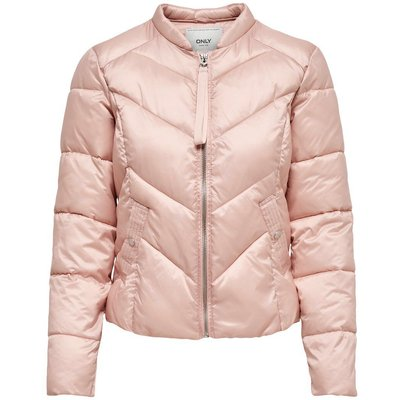 ONLY ONLY Nylon Quilted Jacket Damen Pink