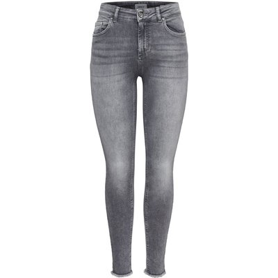 ONLY ONLY Onlblush Mid Skinny Fit Jeans Damen Grau