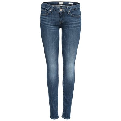 ONLY Onlcoral Sl Skinny Fit Jeans Blau