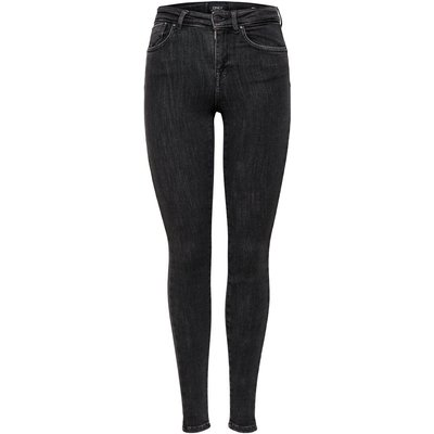 ONLY Onlpower Mid Push Up Skinny Fit Jeans Grau