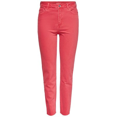 ONLY High Waist Trousers Rot
