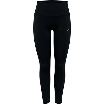 ONLY Formgebende High Waist Trainingstights Schwarz