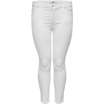 ONLY ONLY Curvy Carwilly Reg Skinny Fit Jeans Damen White