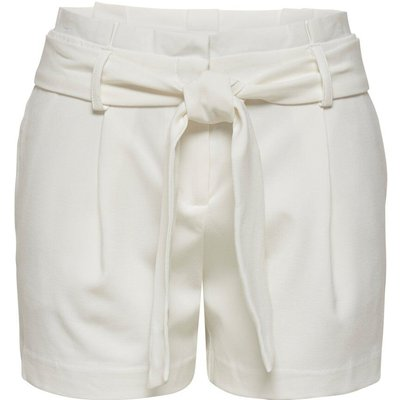 ONLY Paperbag Shorts White