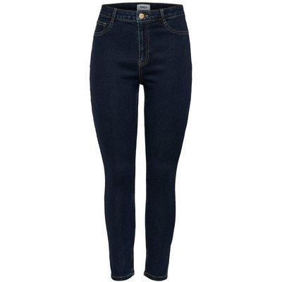 ONLY Onlfhi-rise Skinny Fit Jeans Blau