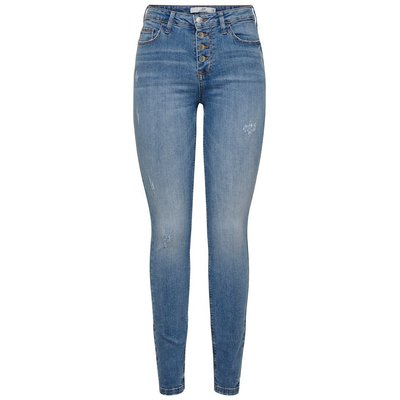 ONLY Jdyjona High Skinny Fit Jeans Blau