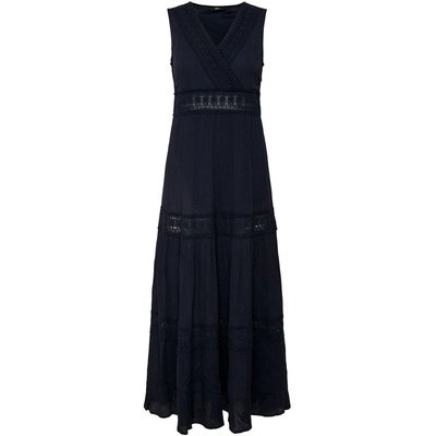 ONLY ONLY Spitzendetail Maxikleid Damen Blau