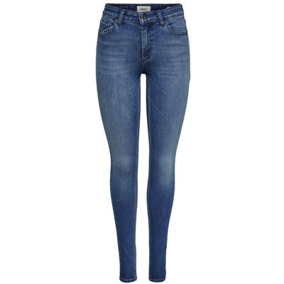 ONLY ONLY Onlblush Mid Skinny Fit Jeans Damen Blau