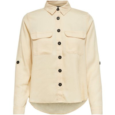 ONLY Loose Fit Hemd Beige | ONLY SALE