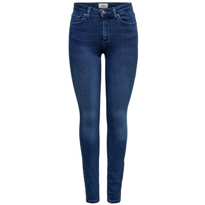 ONLY Onldooley Mid Skinny Fit Jeans Blau