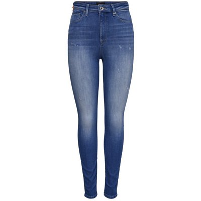 ONLY Onlgosh Hw Ankle Skinny Fit Jeans Blau