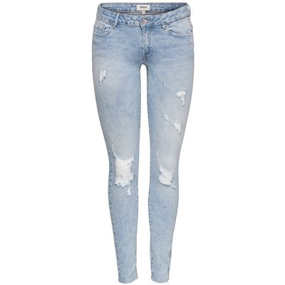 ONLY Onlcoral Sl Ankle Skinny Fit Jeans Blau