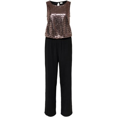 ONLY Pailletten Jumpsuit Schwarz | ONLY SALE
