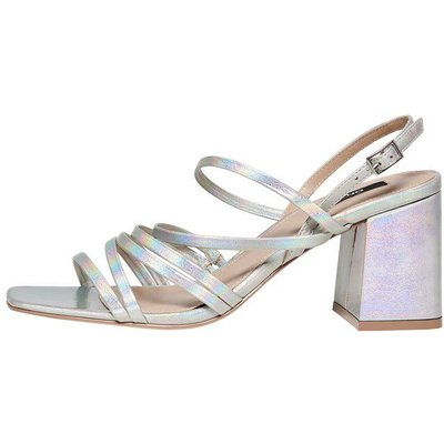 ONLY Metallic Sandalen Silber | ONLY SALE
