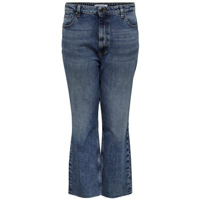 ONLY Caroxy Hw Straight Fit Jeans Blau