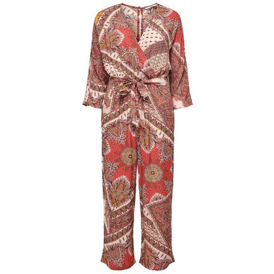 ONLY Print Jumpsuit Rot | ONLY SALE