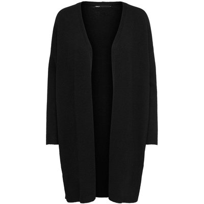 ONLY ­longline Strickjacke Schwarz | ONLY SALE