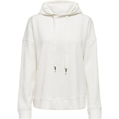 ONLY Solid Colored Sweatshirt White