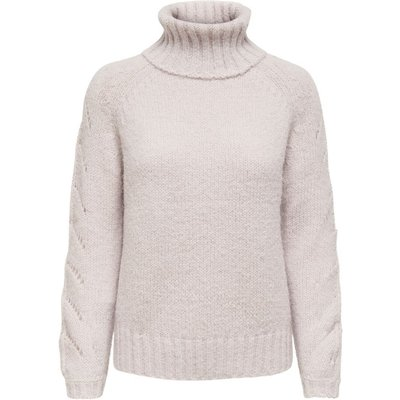 ONLY Rollkragen Strickpullover Beige | ONLY SALE