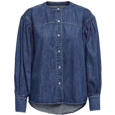 ONLY Loose Fit Jeanshemd Blau | ONLY SALE