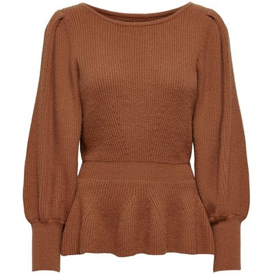 ONLY Einfarbiger Strickpullover Rot | ONLY SALE
