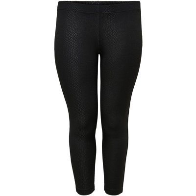 ONLY Einfarbige Curvy Leggings Schwarz | ONLY SALE