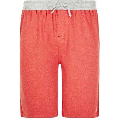 Weird Fish Hemel Jersey Lounge Shorts Dark Red Size 40