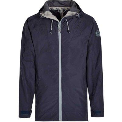 Weird Fish Prescott Fully Waterproof Hooded Jacket Blueberry Size XL