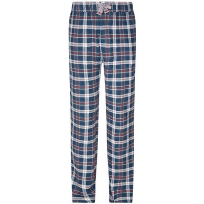 Weird Fish Repend Checked Loungepants Ensign Blue Size 30