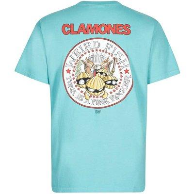 Weird Fish Clamones Artist T-Shirt Menthol