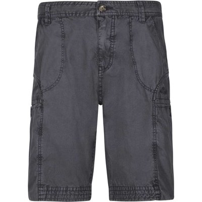 Weird Fish Coltrane Cotton Walking Short Coal Size 36