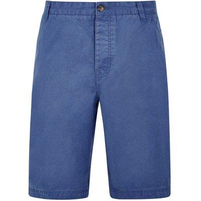 Weird Fish Hiram Cotton Twill Shorts Federal Blue Size 38
