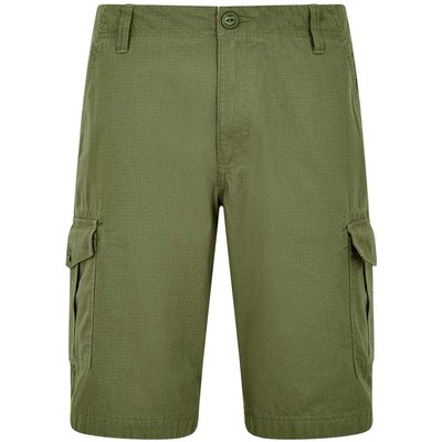 Weird Fish Kline Cotton Ripstop Shorts Bracken Size 34