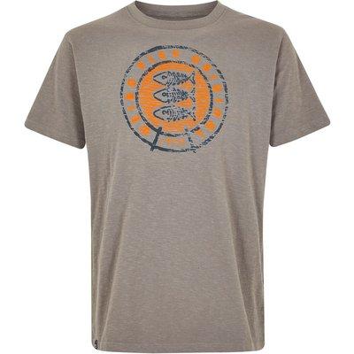 Weird Fish Origin Graphic T-Shirt Steel Grey