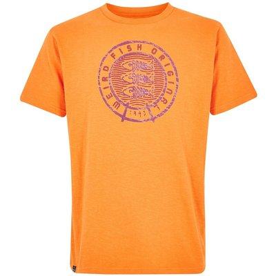 Weird Fish Origin Graphic T-Shirt Orange Peel