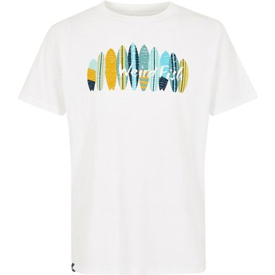 Weird Fish Surfer Graphic T-Shirt Dusty White