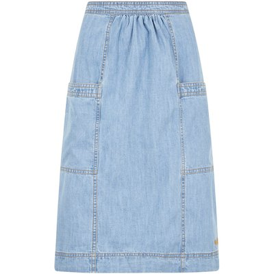 Weird Fish Bryony Denim Skirt Denim