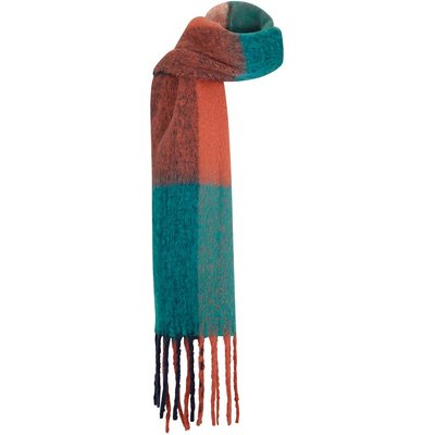 Weird Fish Katy Brushed Scarf Mango