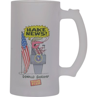 Weird Fish Hake News Pint Tankard Red Size ONE