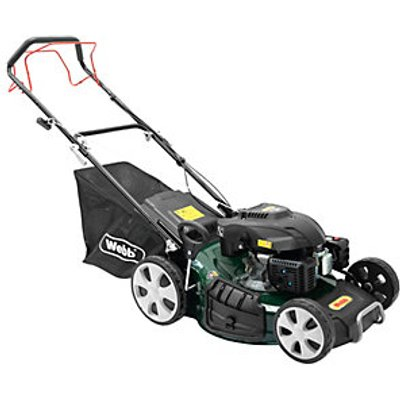 Classic 51cm 20inchSelf Propelled Petrol Rotary Lawnmower - 5055661903769