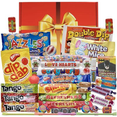 Personalised Bumper Box of the Best Retro Sweets Ever!